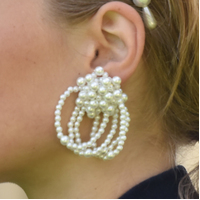 Vivienne Runway Pearl Splendid Earrings  image