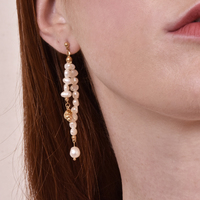 Elsa Boho Style Shell String Earrings image