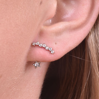Alane Shooting Star Earrings image