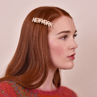 New York Pearly Statement Barrette image