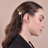 Peace Luxury Earring Hair Clip (Limited Edition) image