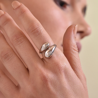 Maeve Artisan Silver Open Ring image