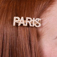 Paris Pearly Statement Barrette