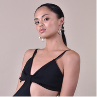 Camile Polished Natural Shell Earrings