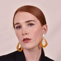 Symone Dandelion Drop Earrings (for pierced ears)