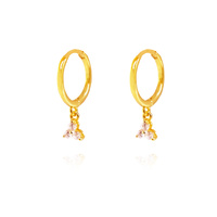Mia Gold Filled Sleeper Earrings