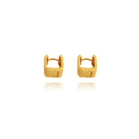 Zen Minimal Gold Filled Earrings image