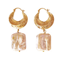 Glory Luxury Baroque Pearl Drop Earrings image