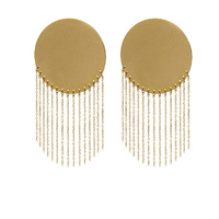 Susette Luxury Golden Tassel Earrings image