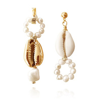 Keira Mismatching Coastal Muse Earrings image