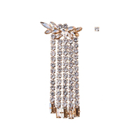 Aubrey Luxury Rhinestone Mismatching Earrings image