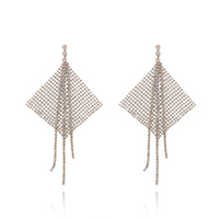 Gem Runway Spotlight Mesh Earrings image