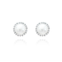 Lachelle Vintage Pearl Clip-on Earrings image