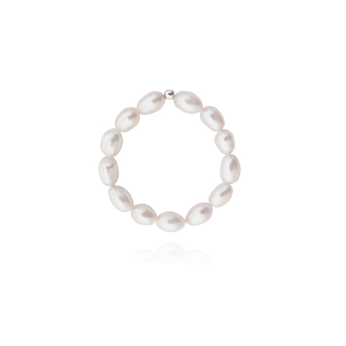 Laurel Freshwater Pearl Ring (Size 6)